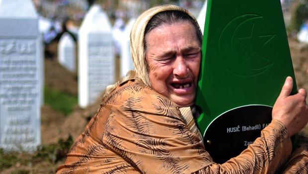 20th anniversary of Srebrenica massacre