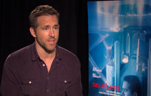 """Behind the scenes of """"Self/less"""" with Ryan Reynolds"""