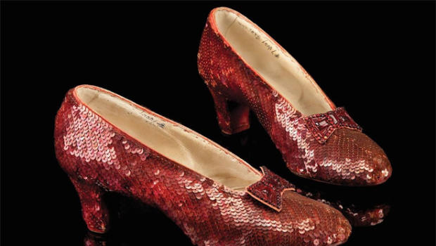 Garland's stolen ruby slippers from 'Wizard of Oz' are found