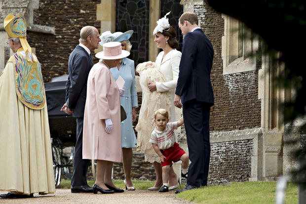 Princess Charlotte christening photos by Mario Testino