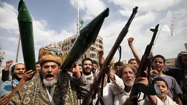 Image result for Houthi rebels, photos