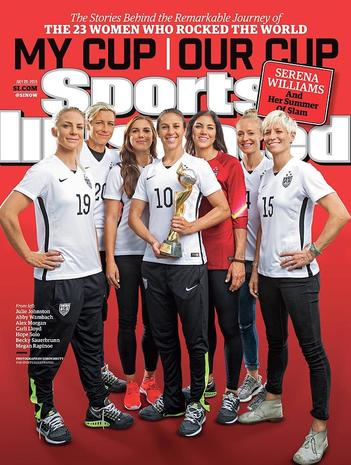 Sports Illustrated's newest cover girls