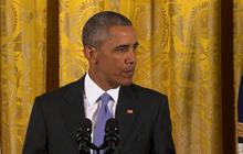 President Obama challenges skeptics of Iran deal