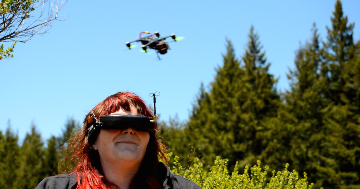 Drone racing soars as competitive sport