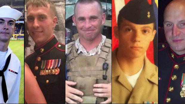 Chattanooga shooting victims
