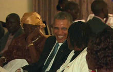 Obama visits Kenya for first time as President