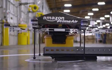 """Amazon is planning a drone """"superhighway"""""""
