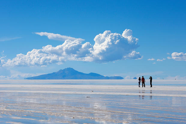 Bolivian salt flats: Alien landscape on Earth