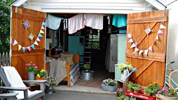 Man Cave Woman Shed : Studio shed arch design man cave