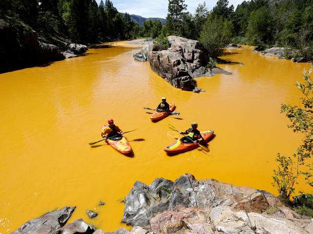 Animas River Colorado spill