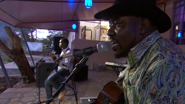 Country music singers Elvis Otieno and Esther Konkara bring
