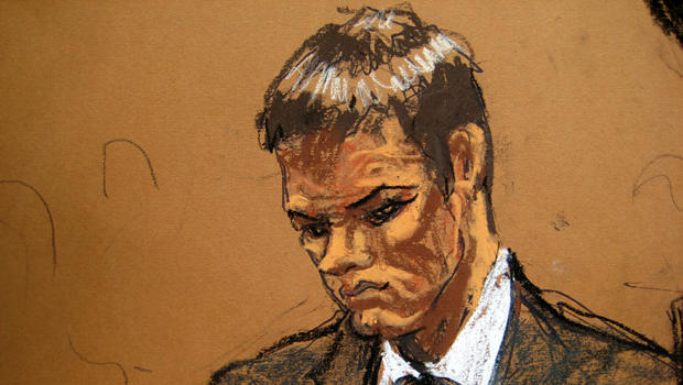 New England Patriots quarterback Tom Brady is seen in Manhattan federal court in New York Aug. 12, 2015, in this sketch by Jane Rosenberg.