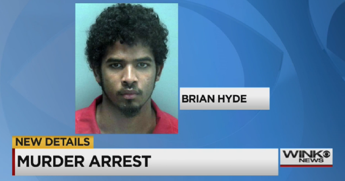 brian hyde  charged  extremely violent florida murder cbs news