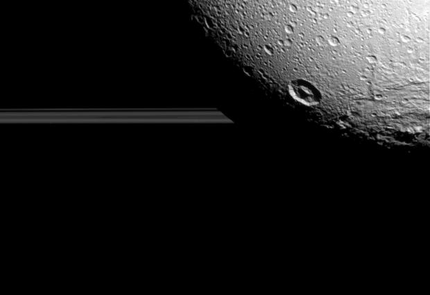 Cassini's breathtaking views of Saturn's moon Dione