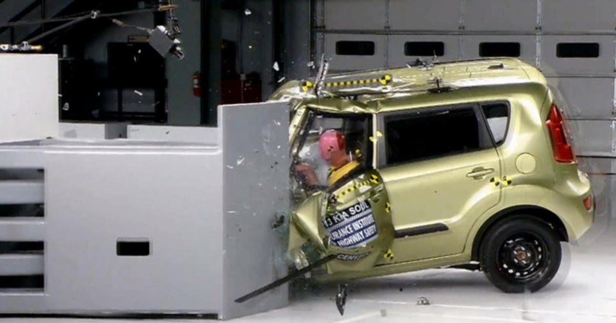IIHS autobrake front-crash prevention test results revealed - CBS News