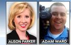 Alison Parker and Adam Ward of CBS Roanoke affiliate WDBJ-TV