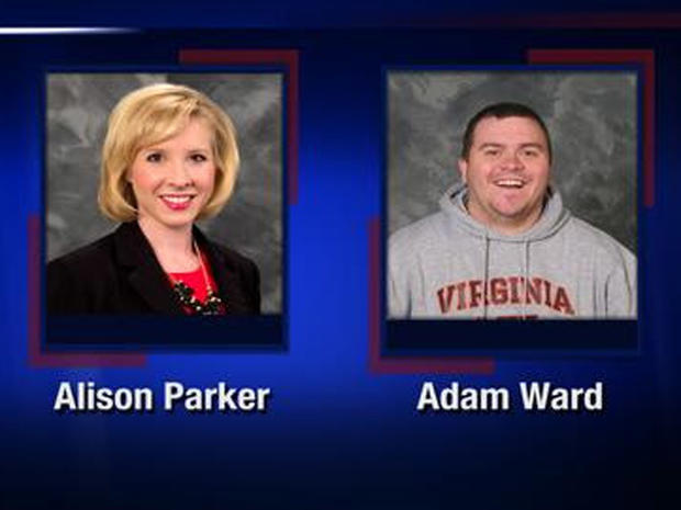 Alison Parker and Adam Ward, a reporter and cameraman for CBS Roanoke affiliate WDBJ-TV
