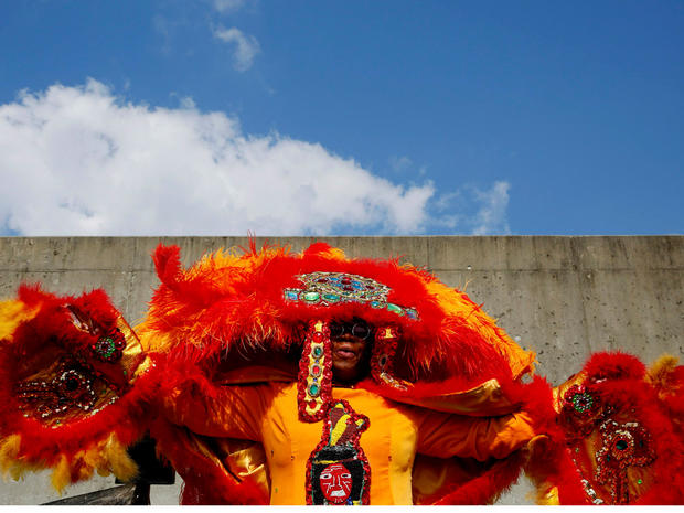 Hurricane Katrina New Orleans Mardi Gras Indians