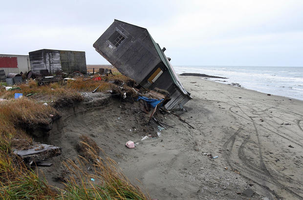 climate change beach erosion