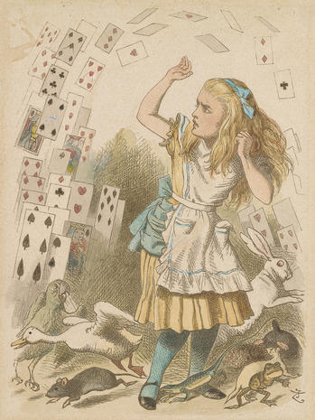 "150 years of ""Alice in Wonderland"""