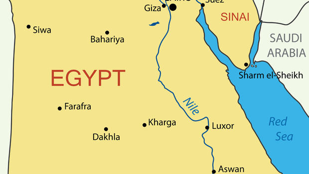 US Troops Hurt In Egypt Blasts CBS News - Egypt interactive map