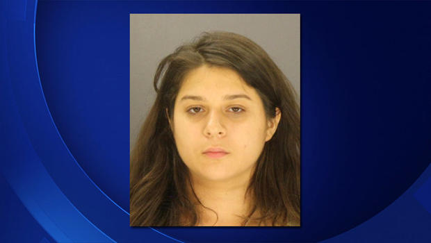 Crystal Cortes is seen in this undated police booking photo.
