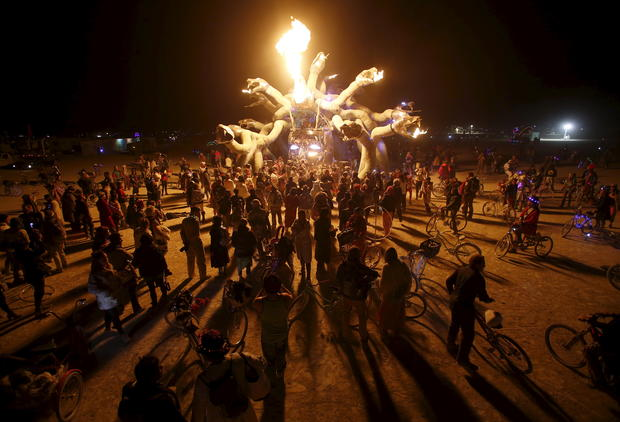Burning Man 2015