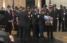 Funeral held for slain Illinois officer