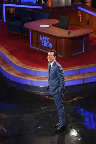 "Stephen Colbert ""Late Show"" premiere"
