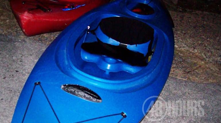 Vincent Viafore's kayak