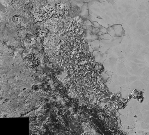 Astonishing Pluto in sharp focus