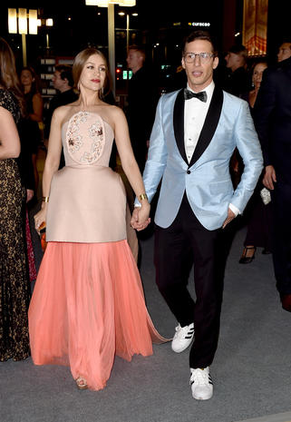 Andy Samberg And Joanna Newsom Emmy Awards 2015 After Parties