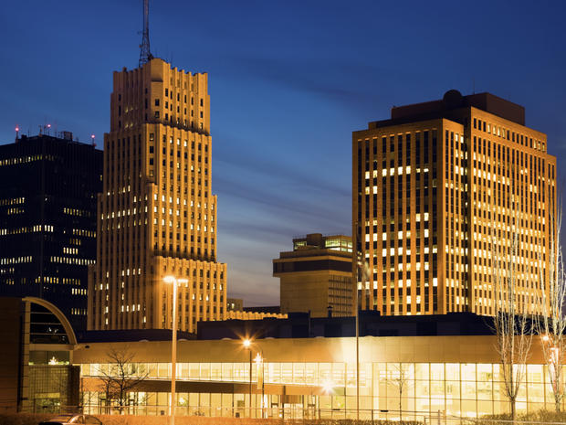 Skyline of Akron, Ohio