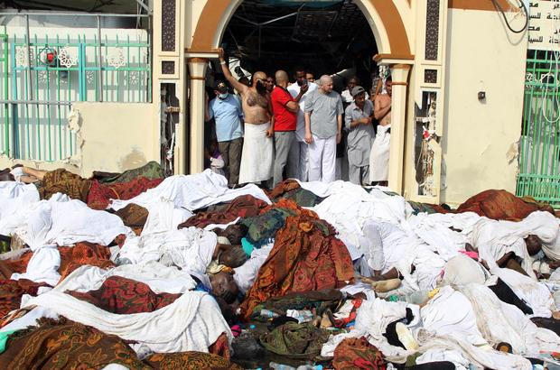 Deadly stampede at hajj pilgrimage