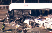 Four dead after duck boat hits bus on Seattle bridge