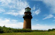 Martha's Vineyard lighthouse on edge of disaster