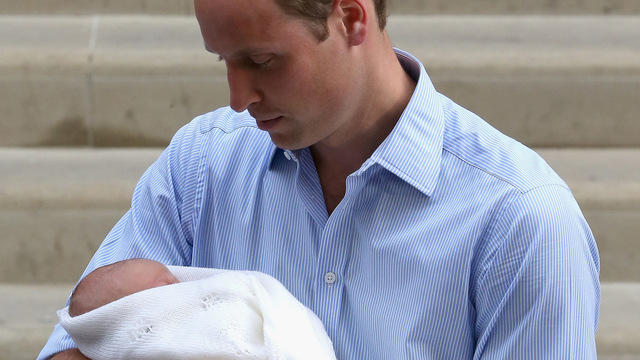 """Prince William: Prince George """"pretty loud, extremely good-looking"""""""