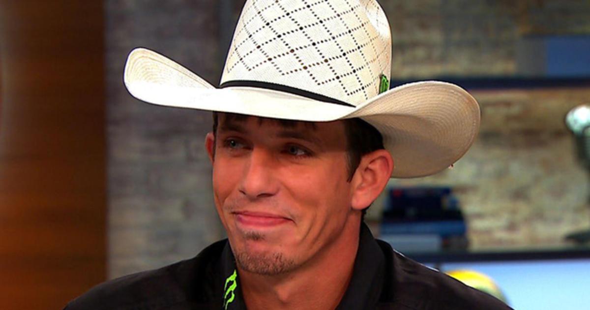 Bull rider who conquered legendary Bushwacker  I was lucky - CBS News 95331bf9b85