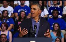 "Obama decries the ""soaring cost of higher education"""