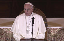 Pope Francis addresses values of marriage
