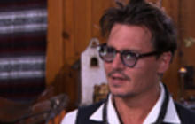 Johnny Depp on the role of Tonto