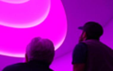 James Turrell transforms NYC's Guggenheim Museum