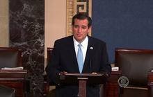 Cruz's Senate speech generates ill will among GOP colleagues