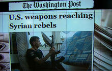 U.S. arms now reportedly being delivered to Syrian rebel groups