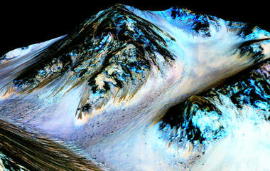 NASA announces evidence of water on Mars