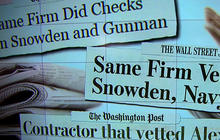 Aaron Alexis, Snowden background checks conducted by same firm