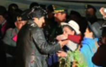 Bolivia's president blames U.S. for delayed flight from Moscow