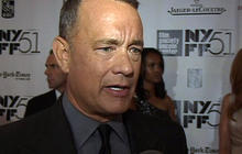 "Tom Hanks, ""real-life"" Capt. Philips at NYFF premiere"