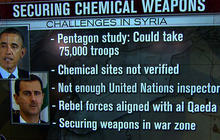 Inside challenge to secure and destroy Syria's chemical weapons