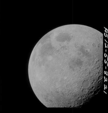 Newly released photos of Apollo moon missions